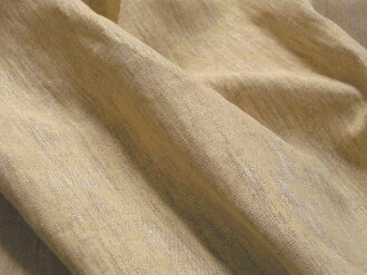 Italy FA... I.SA linen plain weave pigment prints or passing pattern Beige C order cut fabric 10 cm