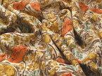 日本製 ポリエステル ヴィンテージ梨地 フラワープリント J[オーダーカット生地 10cm単位]【あす楽対応】【HLS_DU】【RCP】