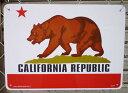 【看板】プラスチックサインボード カリフォルニアリパブリック (Cal...
