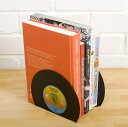 レコードブックエンド ■ レコード 仕切り 本棚 オシャレ アメリカン雑貨