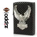 【Zippo】HARLEY-DAVIDSON ハーレーダビッドソン ビッグメタルSV [HDP-19] ■ ジッポー オイルライター アメリカン雑貨