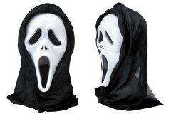 【Scream スクリームマスク】アメリカ雑貨アメリカン雑貨映画キャラクターコスプレハロウィンHalloween仮装グッズ文化祭ステージ衣装【楽ギフ_包装】
