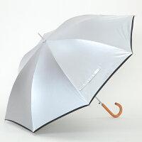 表のコーティング生地が太陽光や熱を反射。遮熱性に優れた「ひんやり傘」です。
