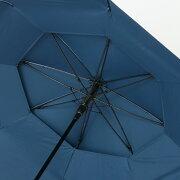 シルバーコーティング風が抜ける強風対応傘