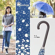 大きいジャンプ傘レディース雨傘65cm×8本骨長傘グラスファイバー【LIEBEN-0478】naga