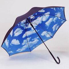 すっきり晴れやかブルースカイ。自慢したくなる店長おすすめのジャンプ傘です!【レビューを書...