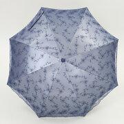 UV折傘シルバーレース50cm×8本骨<ひんやり傘>