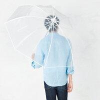 特大透明ビニール傘70cmモデル使用