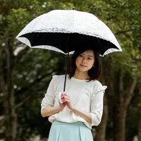 UVコンパクト長傘レース遮熱1級遮光