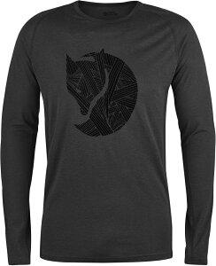 Fjallraven フェールラーベン Abisko Trail T-Shirt Printed LS Tシャツ