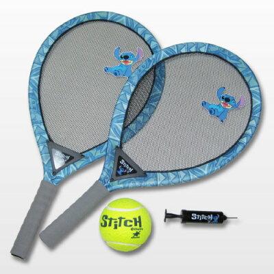 ビッグサイズ!?のレジャーアイテム!!Stitch(スティッチ)ジャンボテニス2本セットジャンボ...