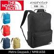 【ノースフェイス/THE NORTH FACE】 メトロデイパック Metro Daypack NM81658 【NF-BAG】 バックパック