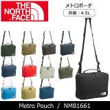 ノースフェイス THE NORTH FACE メトロポーチ Metro Pouch NM81661 【NF-BAG】 ショルダーバック