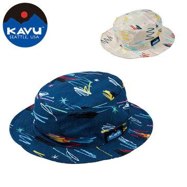 【楽天カード使用で最大P7倍!23日20時から】KAVU カブー キッズ グラフィティーバケットハット 19821049 【帽子/ハット/子ども/アウトドア/レジャー】