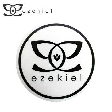【ステッカー3000円以上購入で送料無料】【EZEKIEL】ステッカー O BLACK 10cm×10cm(円形) 最終処分中【即日発送】