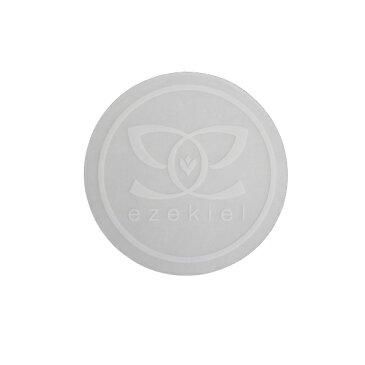 【ステッカー3000円以上購入で送料無料】【EZEKIEL】ステッカー P WHITE 5.5cm×5.5cm(円形) 最終処分中【即日発送】
