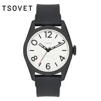 tsovet-009【TSOVET/ソベット】ウォッチJPT-NT42black/whitew/black/black/42mm/NT331540-40