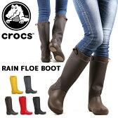 【クロックス/CROCS】サンダル W RAIN FLOE BOOT レインフロー ブーツ ウィメンズ クロックス レディース 【クロックス/CROCS】 クロックス レインブーツ 国内正規品 クロックス キッズ レディース クロックス crs-009