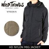 【ワイルドシングス/WILDTHINGS】 HD NYLON MIG JACKET WT003N-N 【服】 ジャケット 中綿入り アウター アウトドア 防寒 防風 耐水性