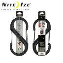 ● ナイトアイズ NITE-IZE S-BINER No10 BLK GATES/BK/SBP10-03-01BG 【雑貨】 キーホルダー アクセサリー お買い得