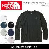 ノースフェイス THE NORTH FACE 長袖Tシャツ ロングスリーブスクエアロゴティー L/S Square Logo Tee NT81743 【NF-TOPS】メンズ【即日発送】