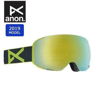 2019 anon アノン ASIAN M2 W/SPR GRAY/SONARBRONZE 18556101131 【ゴーグル/日本正規品/アジアンフィット/メンズ】 【highball】