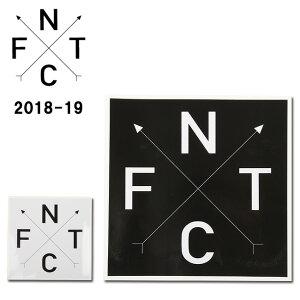 2019 FNTC エフエヌティーシー STICKER FNTC CROSS 【ステッカー/シール/スノーボード/日本正規品】 【highball】