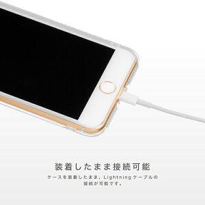iPhone7Plus5.5インチケースHighendberry(ハイエンドベリー)ソフトTPUストラップホール/保護キャップ付き