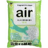 消臭する紙砂 air 森林 6.5L
