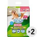 【セット販売】マナーウェア 長時間オムツ 男の子おしっこ用 小型犬用 Sサイズ デニム&ストライプ 42枚×2コ
