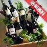 ■送料無料■ ワインの木箱入り 赤ワインばっかり10本セット ギフトセット・贈り物にも、デイリーにも! ジャスト一万円! 【飲み比べS】【ワイン木箱】【赤ワインセット】【送料込み・送料無料】【楽天 通販 販売】