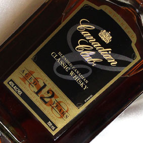 カナディアンクラブ クラシック 12年 Canadian Club Classic Aged 12 Years Blended Canadian Whisky カナダ/カナディアンウイスキー【スコッチウイスキー】