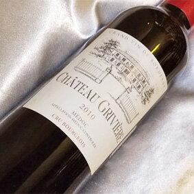シャトー グリヴィエール [2008] ハーフボトルChateau Griviere [2008] フランスワイン/ボルドー/メドック/赤ワイン/フルボディ/375ml