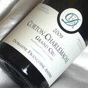 フランソワーズ・アンドレコルトンシャルルマーニュ [2009] Corton Charlemagne [2009年] フランスワイン/ブルゴーニュ/コート・ド・ボーヌ/白ワイン/辛口/750ml /特級