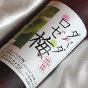 四万十川源流栗焼酎 ダバダロゼ梅 500ml 瓶(ビン)