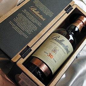 豪華オリジナル木箱入り バランタイン 30年  Ballantines Aged 30 Years   Very Old Scotch Whisky  スコットランド/スコッチウイスキー:ヒグチワイン Higuchi Wine
