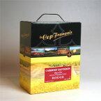 """【ボックスワイン】 ル・セップ・フランセ カベルネ(赤)3LVin de Pays d'Oc """"Le Cep Francais"""" Bag-In-Box 【楽天 通販 販売 お酒】"""
