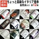 ■□送料無料□■自然派ワイン5本入りちょっと高級なイタリア産赤ワイン12本セットVer.5 北から南まで【イタリアワインセット】【赤ワインセット】