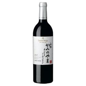 【正規品】サントネージュ山形かみのやまカベルネ・ソーヴィニヨン2017年国産ワイン/赤ワイン/日本のワイン/日本ワイン/辛口/ミディアムボディ/750ml/アサヒビール【希少品・取り寄せ品】