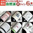 ■送料無料■自然派赤ワイン・ベーシック 飲み比べ6本セットVer.5 AB認証ワイン・有機栽培ワインも入っています!【父の日】【赤ワインセット】【自然派ワイン ビオワイン 有機ワイン bio オーガニックワインセット】