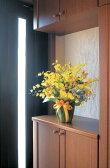 送料無料 光触媒 造花ゴールドストライクインテリア 開店祝い・開業祝いに光の楽園 人工観葉植物