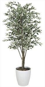 光触媒 光の楽園 ベンジャミンツリー斑入り 高さ1.6m【インテリアグリーン 人工観葉植物 大型】