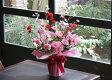 【送料無料】光触媒 光の楽園 クリスタルカーネーションL 【アレンジフラワー 造花】
