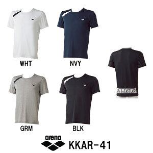 【KKAR-41】ARENA(アリーナ) エステルドライニット Tシャツ[トレーニングウェア/…