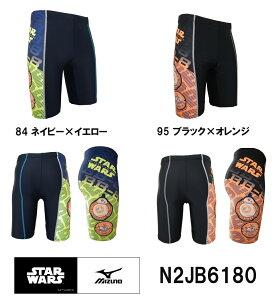 【N2JB6180】MIZUNO(ミズノ) メンズフィットネス水着 ハーフスパッツM【Star…