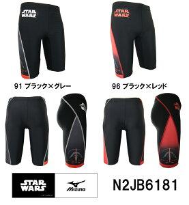 【N2JB6181】MIZUNO(ミズノ) メンズフィットネス水着 ハーフスパッツL【Star…