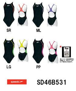 【SD46B531】SPEEDO(スピード) レディース競泳水着 FLEX Σ ウイメンズエイ…