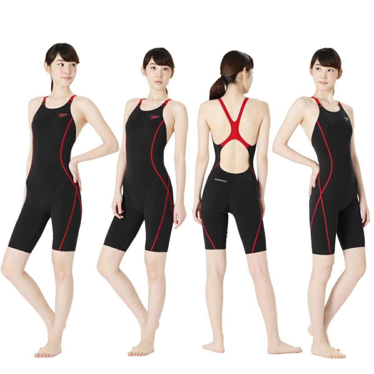 【SD56N01】SPEEDO(スピード)レディース競泳練習水着ENDURANCEJウイメンズスパッツスーツ[競泳水着/女性用/練習用/ワンピース/長持ち]