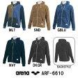 ●●【ARF-6610】ARENA(アリーナ) ボアパイル フードジャケット[トレーニングウェア]
