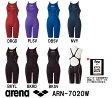 【ARN-7020W】ARENA(アリーナ) レディース競泳水着 X-PYTHON 2 ハーフスパッツ(クロスバック)[競泳水着/女性用/スパッツ/FINA承認]